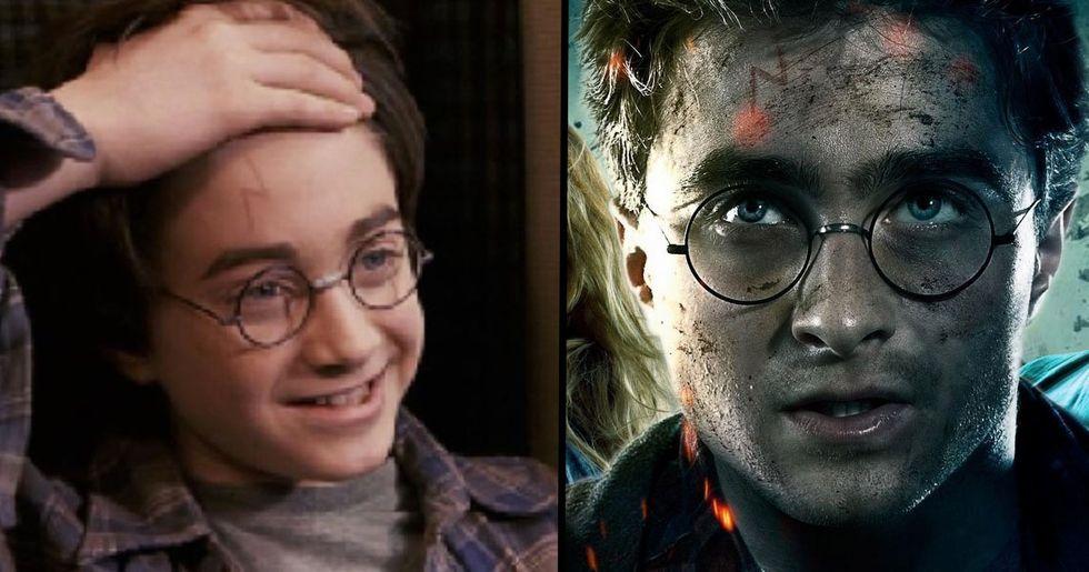 7 Choses Que Tu Ne Savais Pas Sur La Cicatrice d'Harry Potter 4