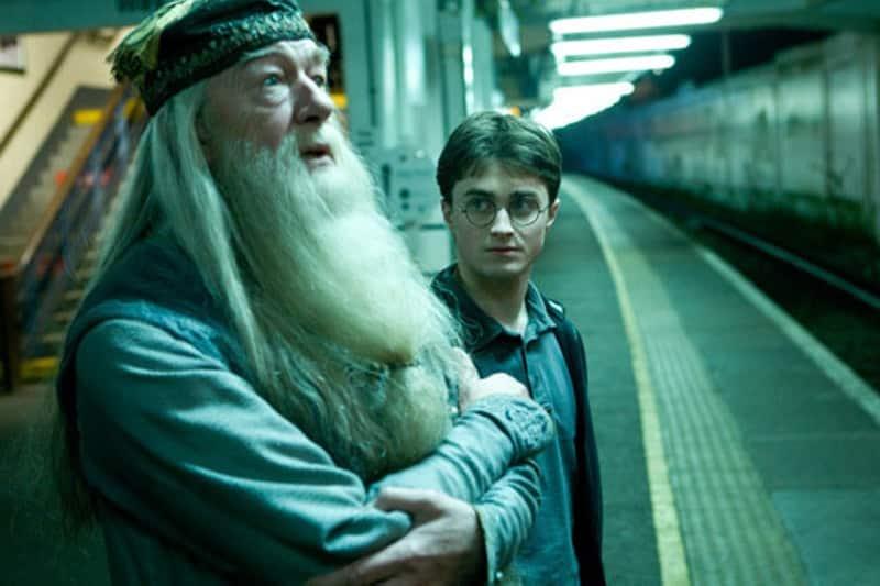 Harry Potter avec Dumbledore